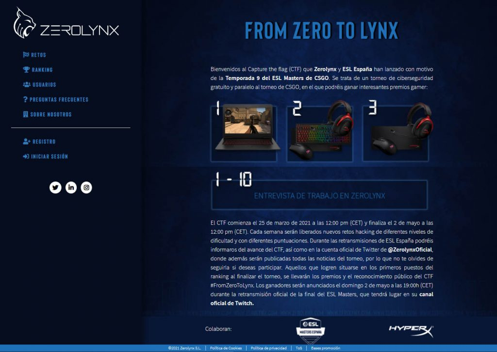 Insecurity Times – 02 – CTFs & Pivoting zerolynx